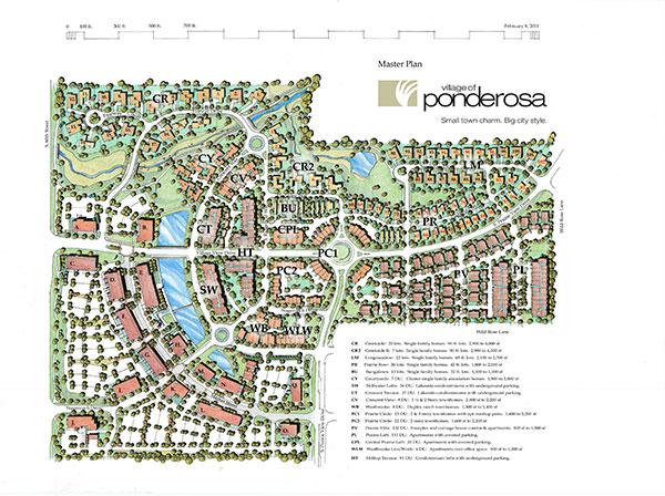 Vision Plan Village Of Ponderosa Reynolds Urban Design